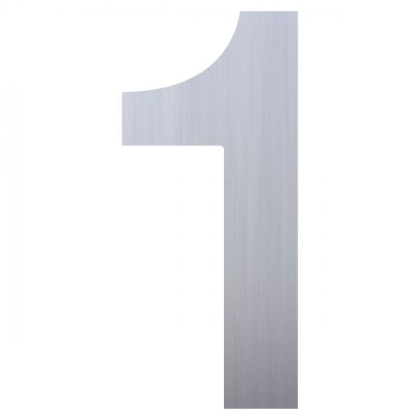 huisnummer ''1'' RVS