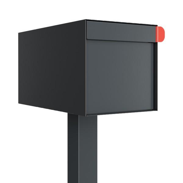 Vrijstaande brievenbus model Americano Anthracite