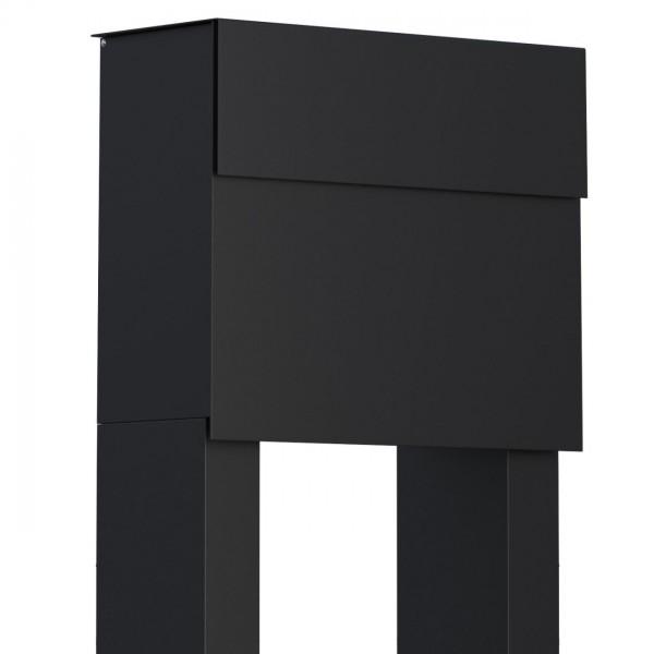 Vrijstaande brievenbus Molto Zwart